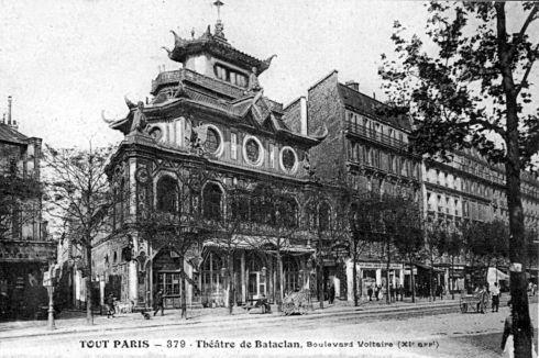 Le Bataclan au début du siècle, Boulevard Voltaire