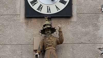 Horloge Place des Prêcheurs à Aix