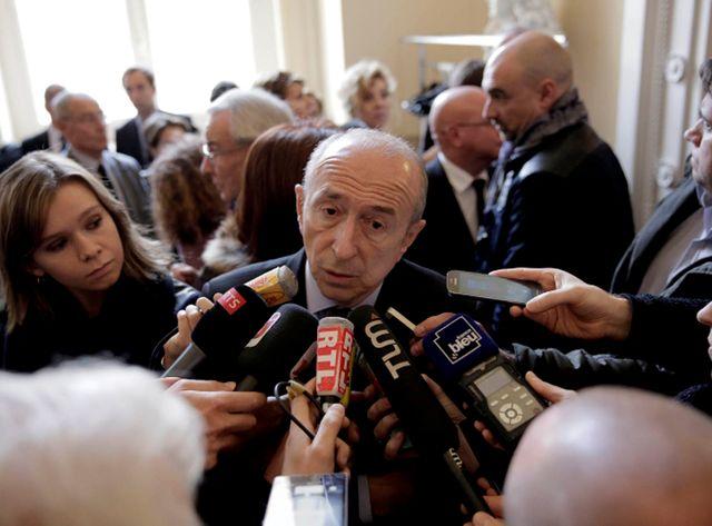 Gérard Collomb, le sénateur-maire socialiste de Lyon