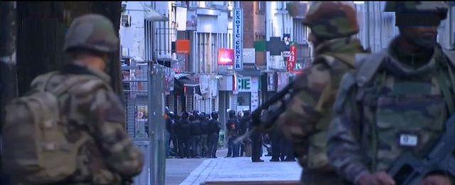 Le Raid en opération à Saint Denis