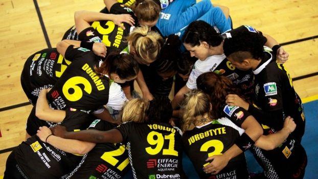 Les handballeuses de l'UBB MB réunies