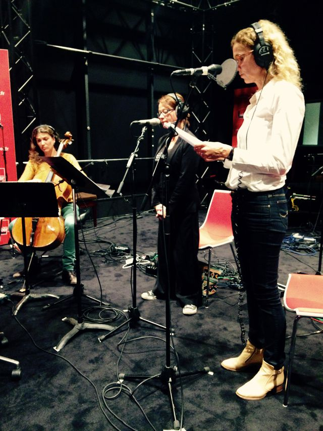 Maeva Le Berre, Isabel Gonzalez et Delphine de Vigan