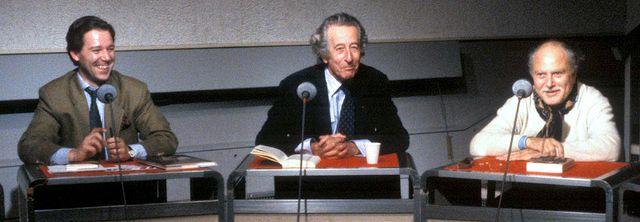 Jérôme Garcin, François-Régis Bastide et Michel Polac