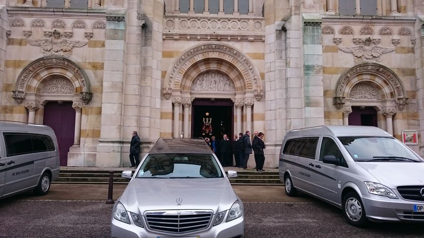 La cérémonie a eu lieu à la basilique du Sacré-Coeur à Nancy