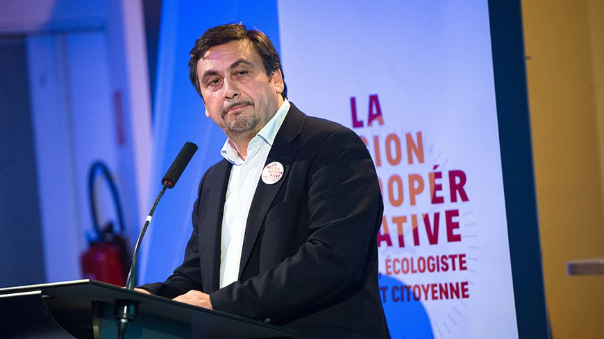 Jean-Marc Coppola co-tête de liste EELV-FdG en PACA.