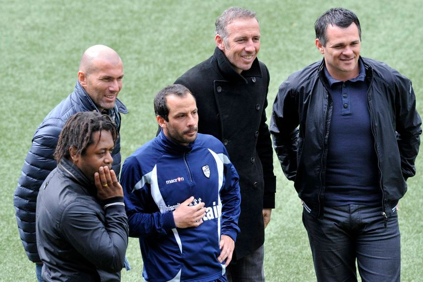 Zinédine Zidane et Willy Sagnol ont passé ensemble leurs diplômes d'entraîneur.