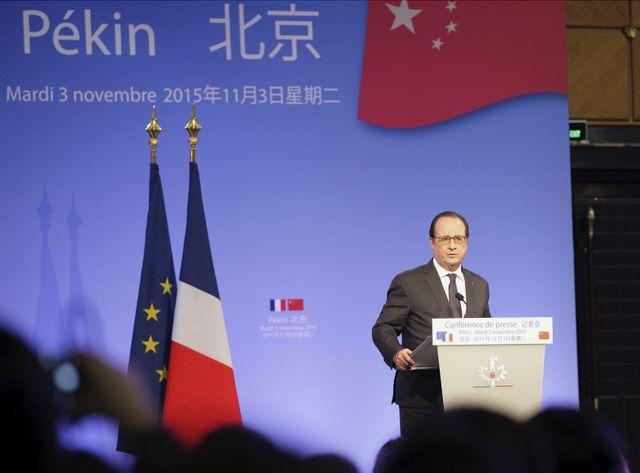 """""""Nous souhaitions que les capitaux chinois puissent être dans Areva"""", François Hollande"""
