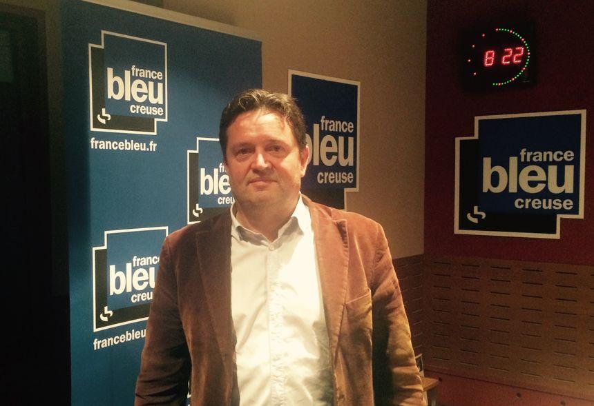 Cyril Victor, tête de liste Les Républicains, UDI et Modem en Creuse