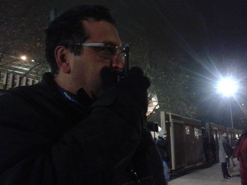 Serge Benhamou, le responsable sécurité du RCSA, coordonne un gros dispositif