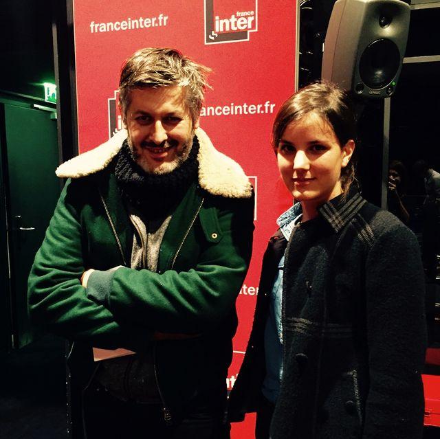 Christophe Honoré et Lise Charles