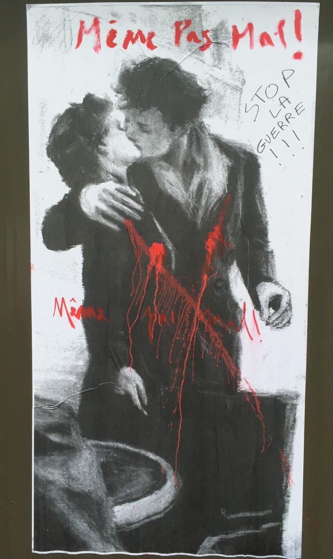 l'affiche le baiser de l'hôtel de ville