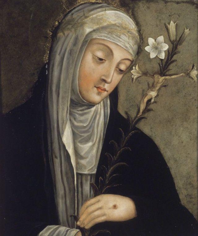 Sainte Catherine de Sienne - XVIème siècle