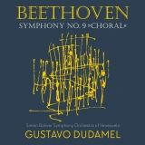 Symphonie n°9 en ré min op 125  Beethoven  Dudamel   Pochette