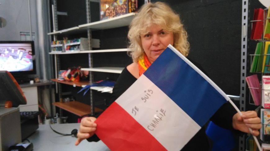 Anita Le Coz, la patronne de l'Arlequin