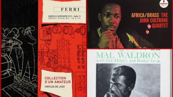Photo - montage enchères vinyles jazz MEA 603*380