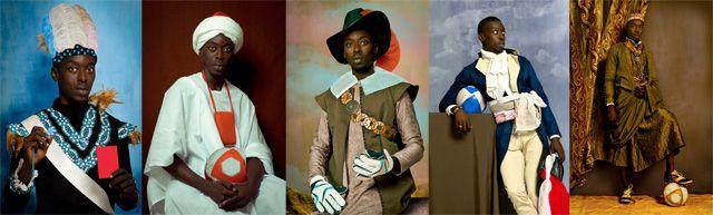 Diaspora par Oma Victor Diop