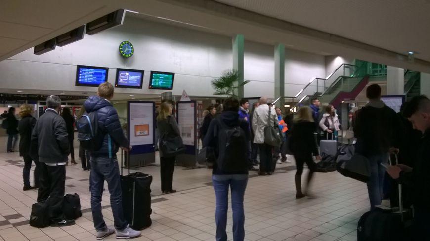 L'homme a été arrêté après une altercation avec des agents SNCF