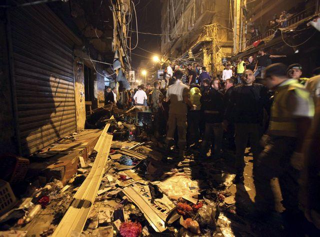 L'attentat visait le fief du Hezbollah chiite, situé dans une rue commerçante bondée du quartier de Bourj al-Barajné