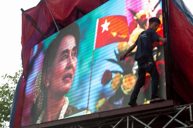 Les élections en Birmanie
