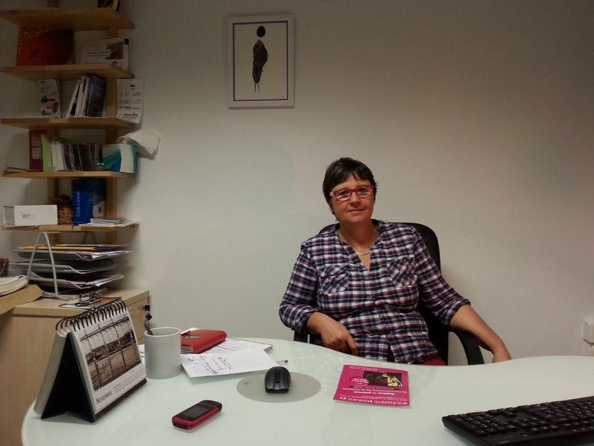 Anne Joseleau la directrice de Solidarité Femmes à Dijon