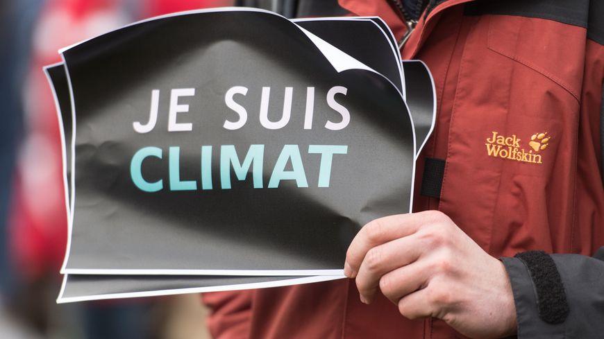 Des marcheurs pour le climat avant la Cop 21