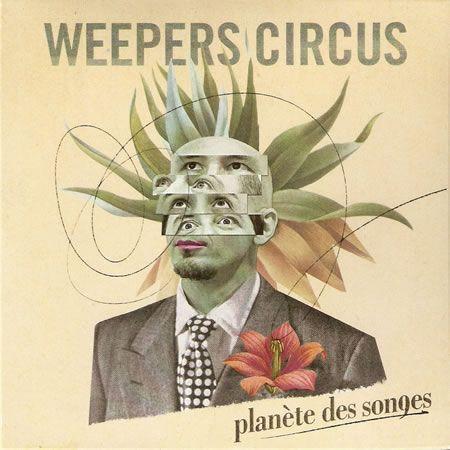 Planète des songes - Weepers circus - visuel couv.