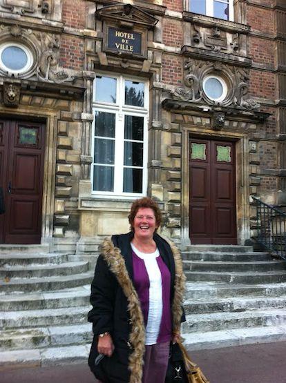Christine Morel, maire d'Harfleur