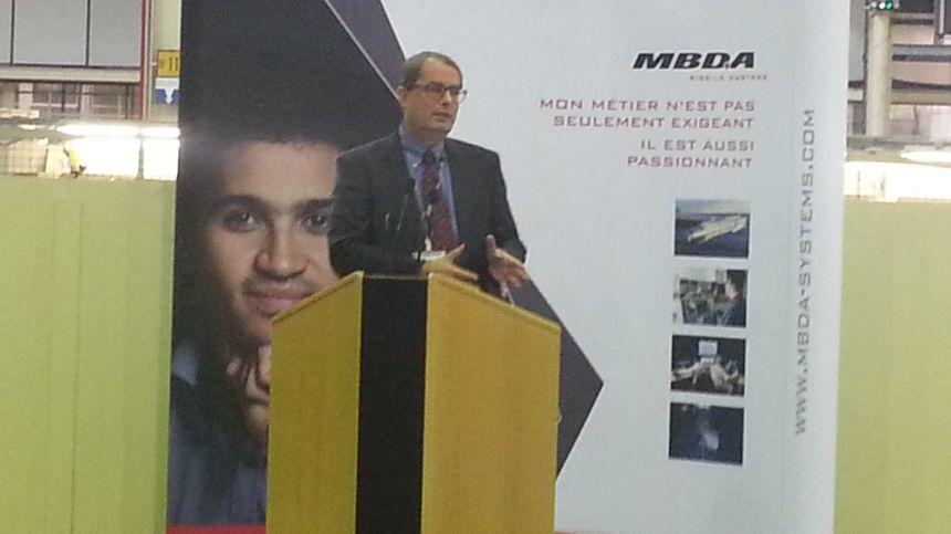 Antoine Bouvier, patron de MBDA