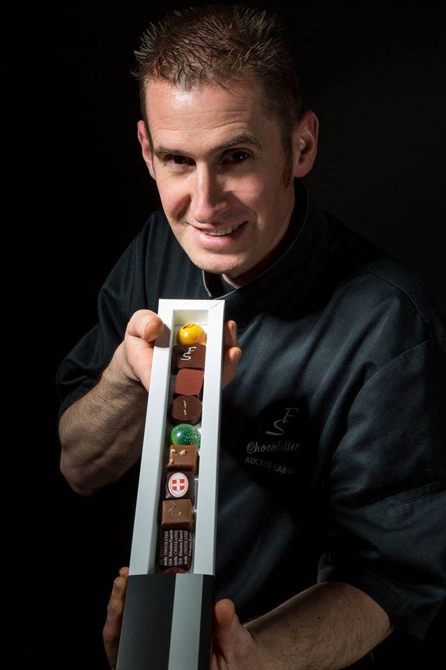 Sébastien Fautrelle Maitre artisan chocolatier Aix Les Bains