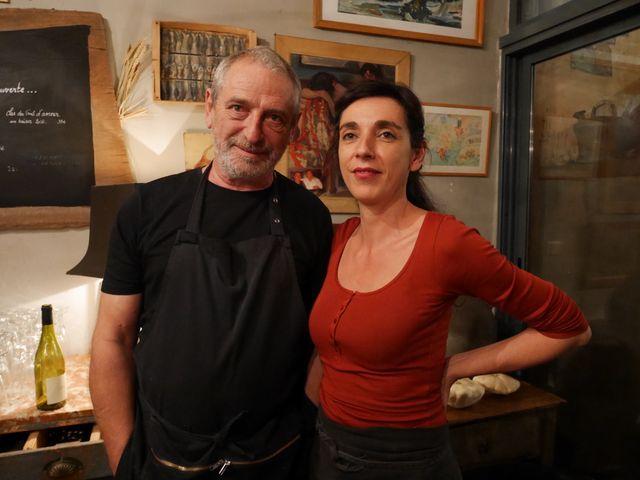 Antoine Delmas et sa femme Emilie
