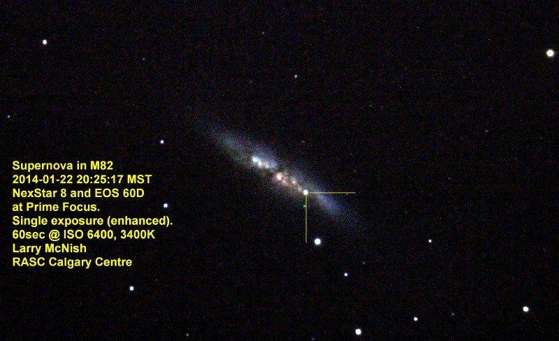Supernova sn 2014 J