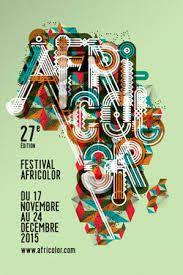 Affiche du Festival Africolor 2015
