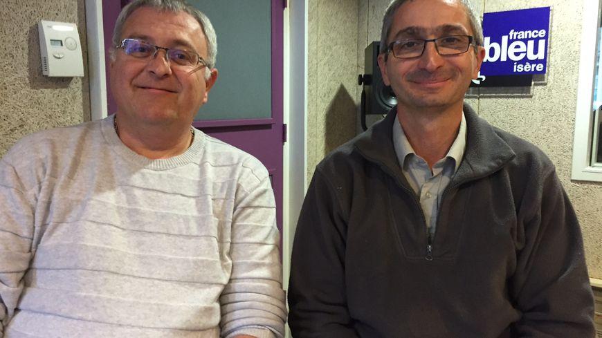 Damien Princet et Bruno Neyroud