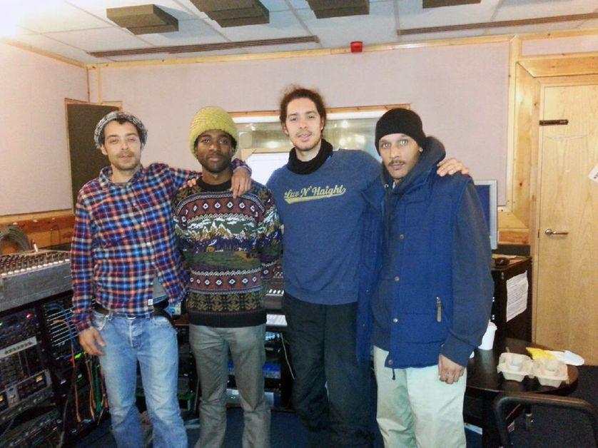 Le groupe United vibrations, organisateur d'un concert à Brixton lors des émeutes