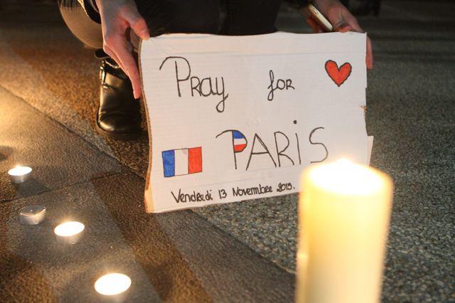 colmar commémore les attentats de Paris
