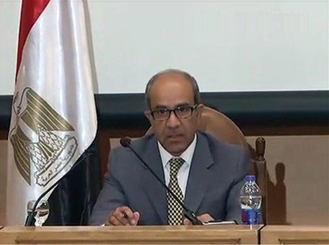Le président du comité d'enquête, Ayman al Moukaddam