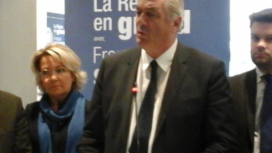 François Sauvadet a présenté son programme pour les régionales 2015