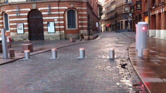 Les rues de Toulouse sont nettement plus vides depuis les attentats de Paris
