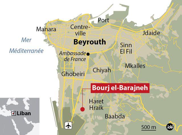 On compterait, selon la Croix-Rouge libanaise, 239 blessés.