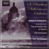 Rimsky Korsakov Yuri  Temirkanov pochette