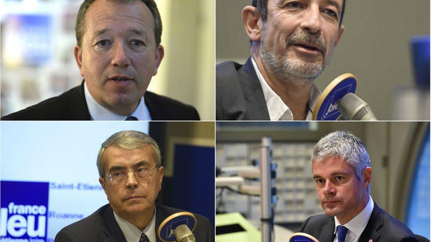 Christophe Boudot, Jean-Charles Kohlhaas, Jean-Jack Queyranne, Laurent Wauquiez
