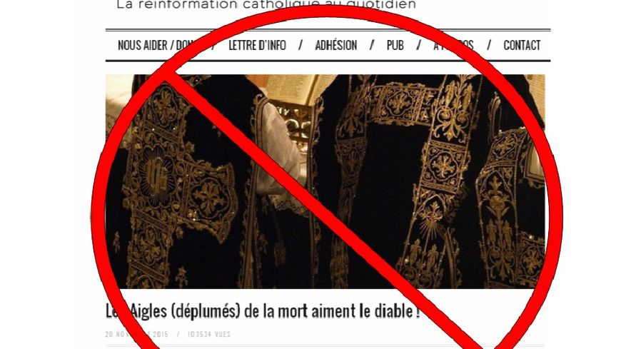 La tribune censurée par l'Eglise