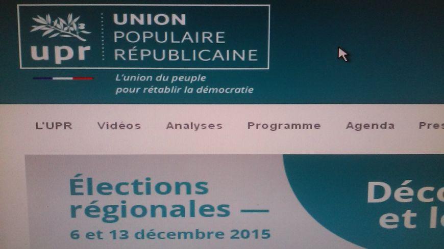 L'UPR présente à ces élections régionales