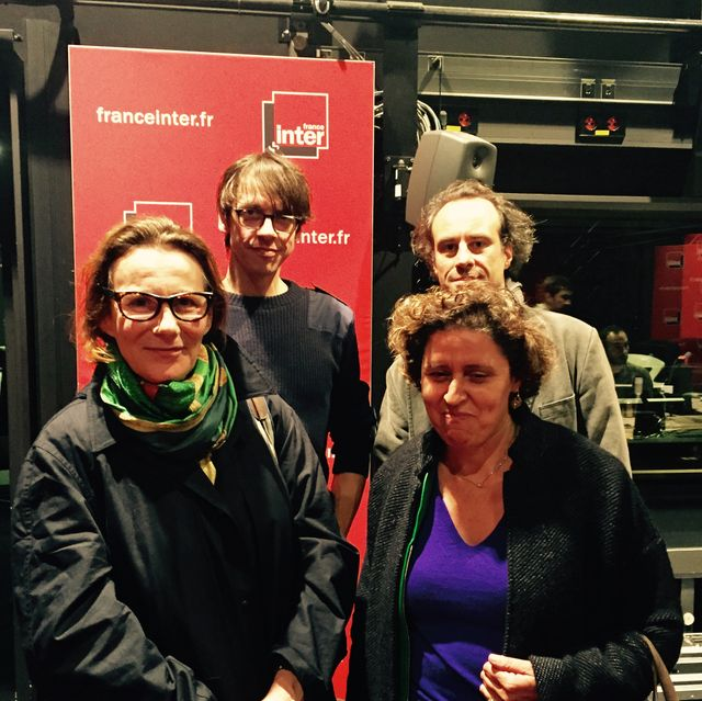 Marie Desplechin, Fabien Vehlmann, Olivier Gasselin et Marie-Rose Moro