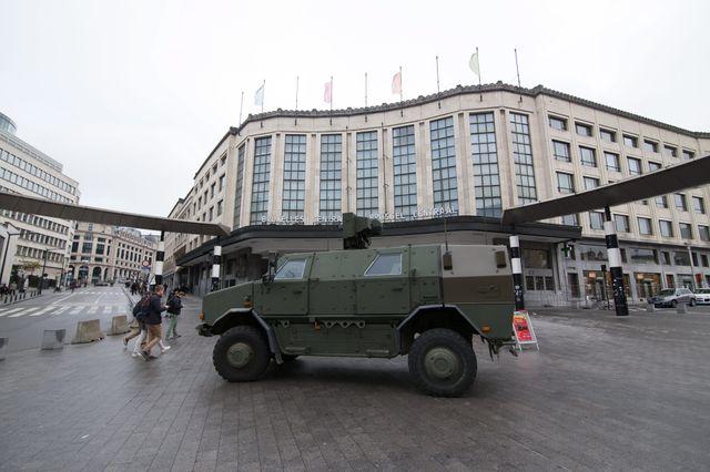 Le niveau d'alerte à Bruxelles a été élevé à 4