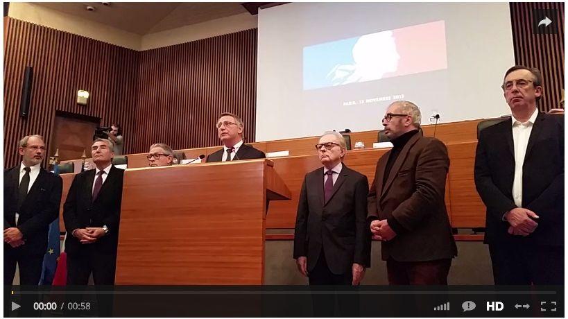 Dans le sillage de Gérard Vandenbroucke, les élus limousins ont chanté en coeur