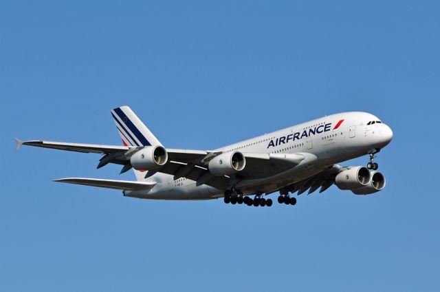 Air France A380 F