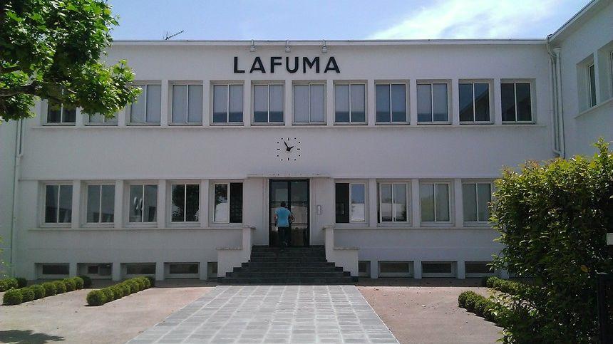 Le site de production Lafuma Mobilier à Anneyron dans la Drôme