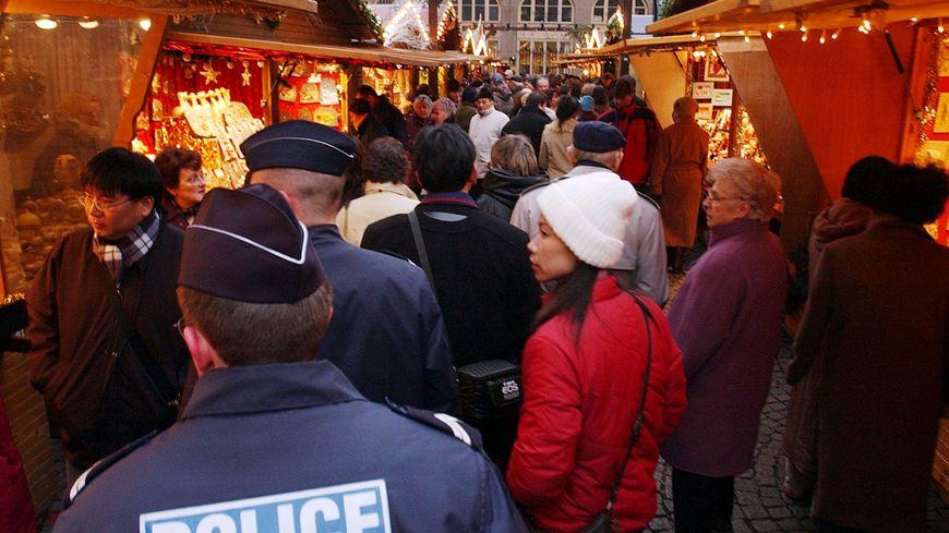 Marché de Noël, à Strasbourg