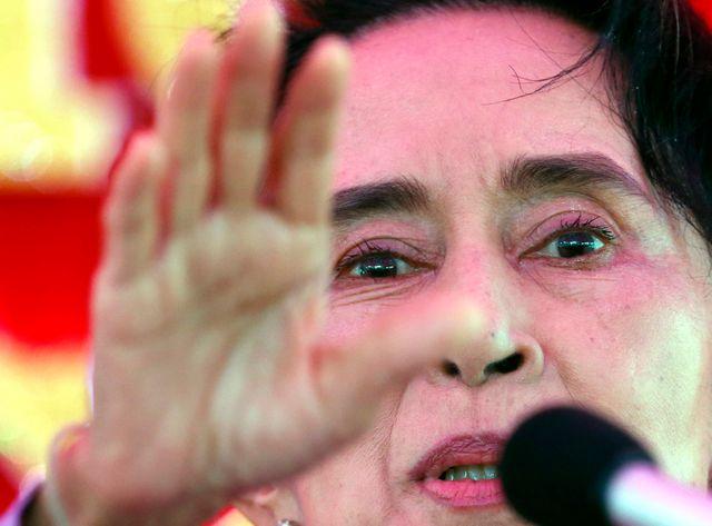 Le parti d'Aung San Suu Kyi est donné favori